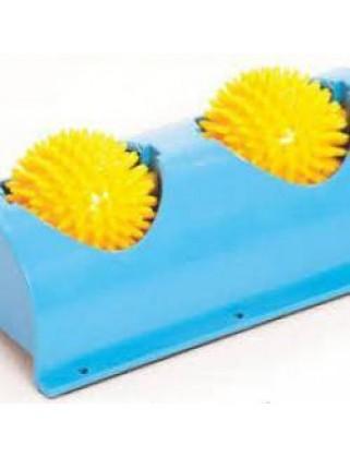 Мячи массажные на подставке для ног М-404