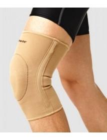 Бандаж на колено эласт. с фиксир. подушкой и метал. спирал. ребрами ЕKN-212