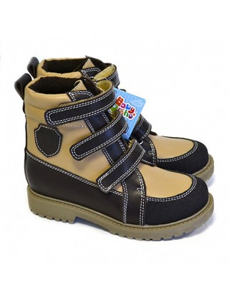Арни 1 Ботинки детские (бежев./коричнев.)