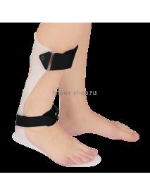 Бандаж на голеностопный сустав при отвисающей стопе (тутор) Т.47.45 (Т-8615)