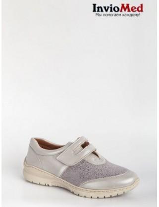 Кроссовки женские серые FOOTWELL BOSSA/FW