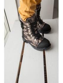 Джексон 1 Ботинки зимние (коричнев. камуфляж)