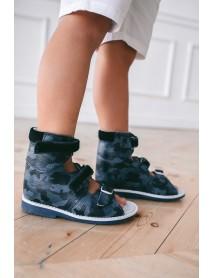 Кевин 2 Ортопедичексая обувь (синий камуфляж)