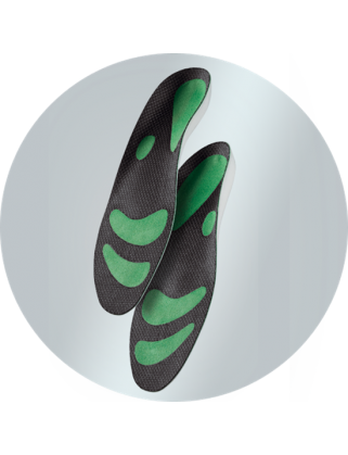 Стельки ортопедические Optimum Green