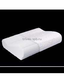 Ортопедическая подушка с ребристой поверхностью Т.504М (М+) (ТОП-104)