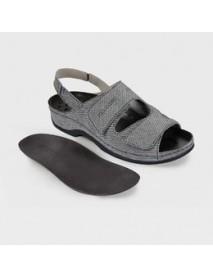 Обувь ортопедическая малосложная(белый рептилия) LM-501.1.020