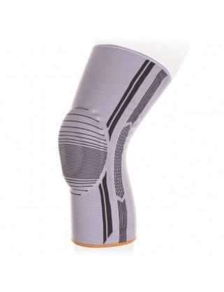 Бандаж на коленный сустав с пателлярным силиконовым кольцом Экотен KS-E01